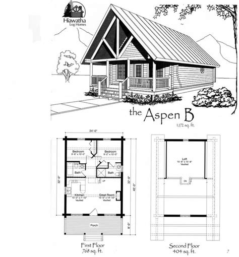simple cabin plans with loft log home floor plans american