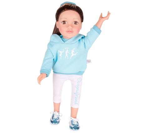 design a friend doll leotard buy chad valley designafriend gymnist outfit at argos co