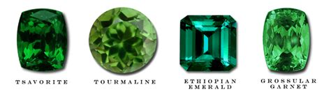green gems and their names pictures to pin on