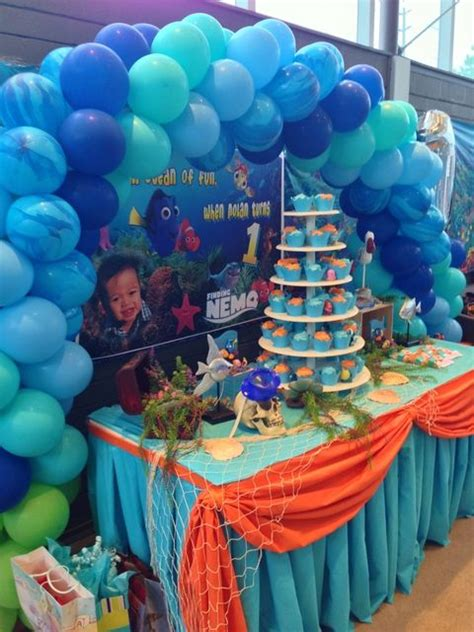 unique finding nemo decorations 14 874 best images about 1st birthday themes boy on