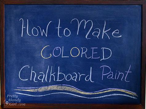 chalkboard paint how to colored chalkboard paint casual cottage