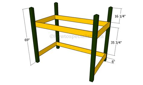 Build Loft Bed Frame Free Loft Bed Plans Howtospecialist How To Build Step By Step Diy Plans