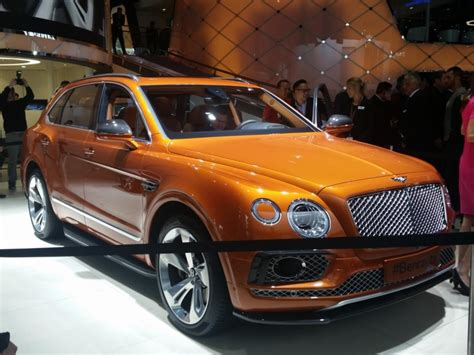bentley bentayga 2015 bentley bentayga frankfurt 2015 official dpccars