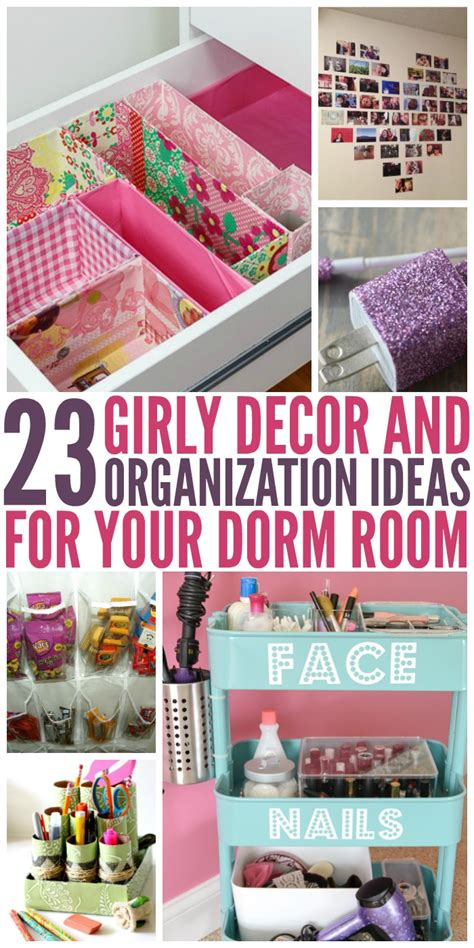 ideas for decorating your room 23 dorm room decor and organization ideas