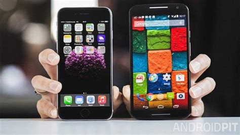 iphone 6 vs android motorola moto x 2014 vs iphone 6 qual voc 234 deve comprar androidpit