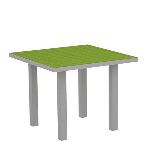 Square Patio Dining Table Hton Bay Pembrey 40 In Square Patio Dining Table Hd14210 The Home Depot