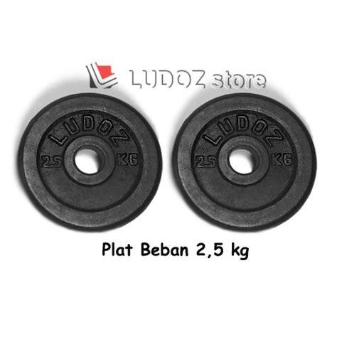 Terlaris 2 5kg Plat Beban Dumbell Plate Barbell Dumbbell Plate 2 5 Kg jual 2 5 kg plat beban dumbell black cast iron plate
