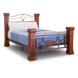 Grand Bed Frames Omega Wooden And Metal Grand Bed Frame Next Day Delivery