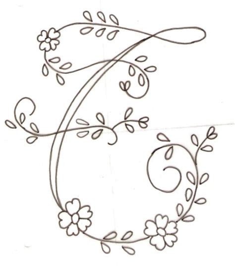 dibujos para bordar gratis bordar letras a mano recherche google abecedarios