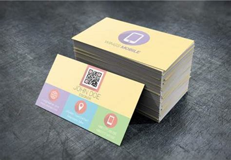 flat rounded business card template psd 10 new and free business card psds