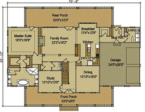 Pinterest Big Farmhouse Plans