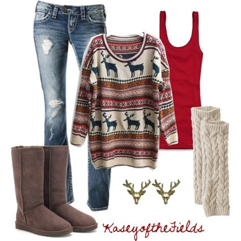 causual christmas ouitfit ideas for womens 5 casual larisoltd