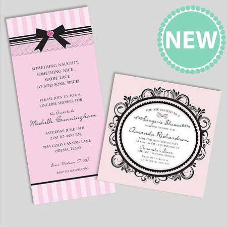 customized wedding shower invitations personalized bridal shower invitations walmart