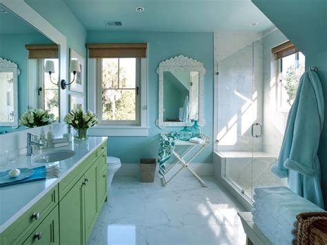 green and blue bathroom 27 cool blue master bathroom designs and ideas pictures