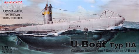 disadvantages of u boats in ww1 u boot typ iia review by brett green special navy 1 72