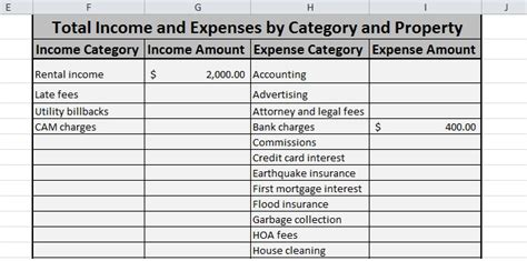 income report template free expense tracking spreadsheet for your rentals we ve