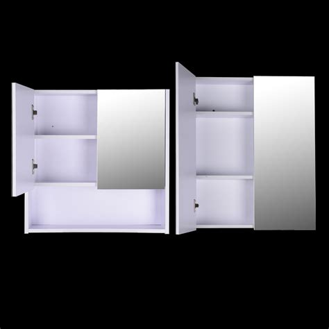 wall mounted bathroom cabinets uk wall mounted mirror cabinet vanity storage cupboard shelf