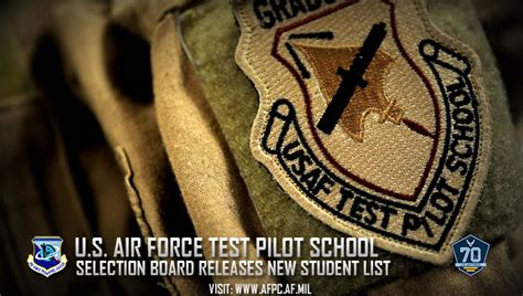 by order of the air force phlet 63 1701 program air force selects 63 officers civilians for test pilot