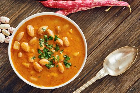 tangy sweet potato and cannellini bean soup cook for