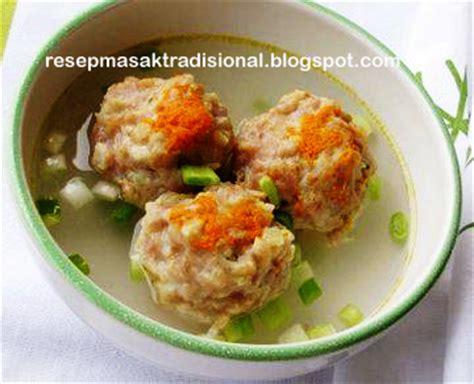 resep membuat siomay ayam udang resep cara membuat siomay ayam kuah resep masakan