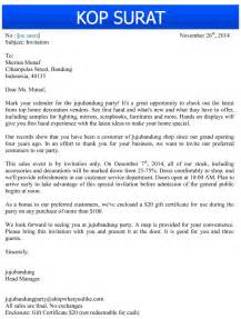 contoh surat undangan bisnis dalam bahasa inggris jujubandung