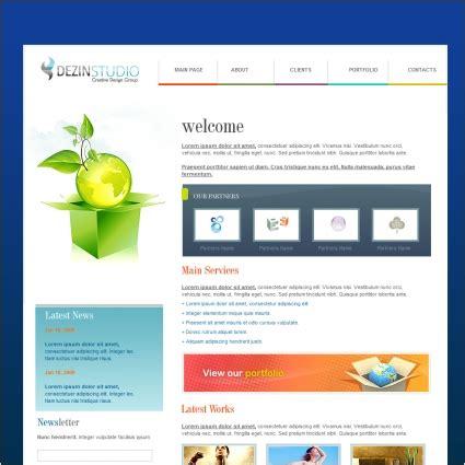 hd website templates free dezinstudio template millions vectors stock photos