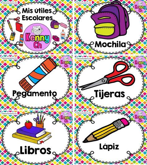 imagenes de utiles escolares con su nombre dise 241 os fabulosos de 250 tiles escolares material educativo