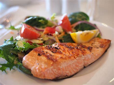 salmon food free photo salmon dish food meal fish free image on pixabay 518032