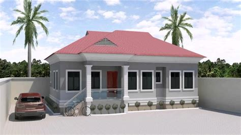 house three bedroom 3 bedroom house design in nigeria youtube