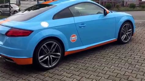 Audi Tt Folieren by Audi Tt 8s Foliert Im Gulf Design By Foliencenter Nrw