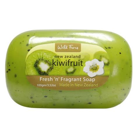 Get A Free 100g Lush Soap Of Your Choice by Ferns Kiwifruit Fresh Fragrant Soap Skincarenz
