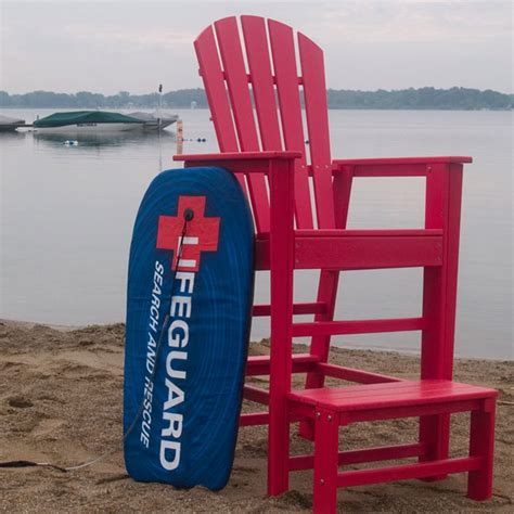 polywood south beach lifeguard chair sbl
