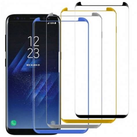 Tempered Glass 3d Samsung S8 samsung galaxy s8 tempered 3d curve