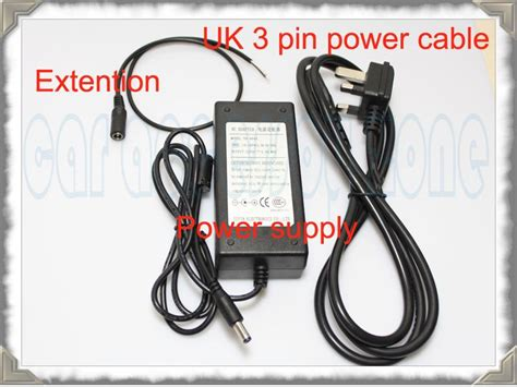 Sale Adaptor Powertek 12v 4a Original 48w ac adapter dc 12v 4a power supply extention cable ebay
