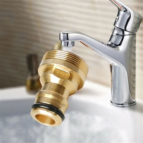 indoor kitchen brass mixer tap hose pipe connector copper