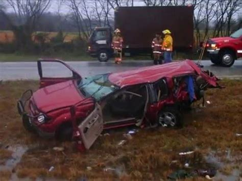 chevy suburban ford explorer  dodge ram crash  youtube