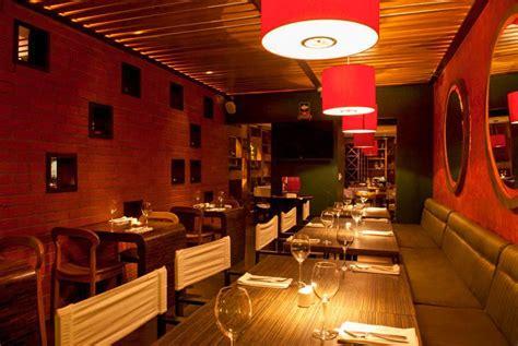 decoracion interior  restaurantes mobiliario