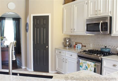 Agreeable Gray Sherwin Williams by The Painted Pantry Door Decorchick
