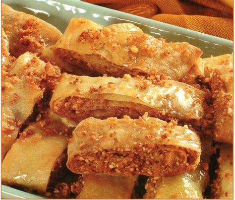 cuisine de choumicha recette de batbout rouleaux feuillet 233 s aux fruits secs facile choumicha