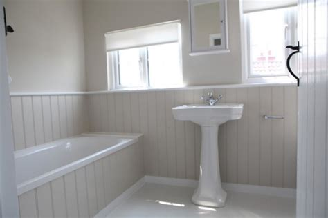 bathroom cladding bath stowed