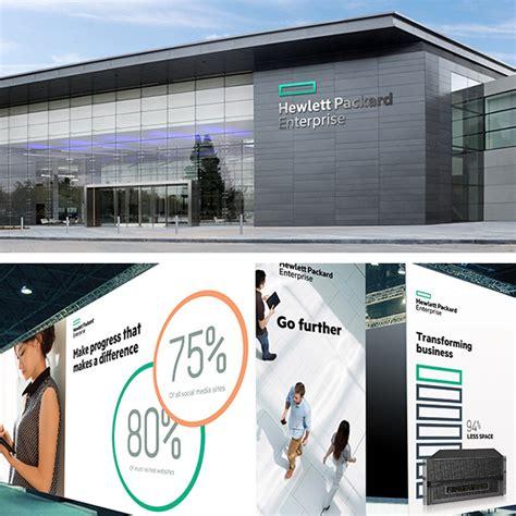 Hewlett Post Office by Brand New New Logo For Hewlett Packard Enterprise