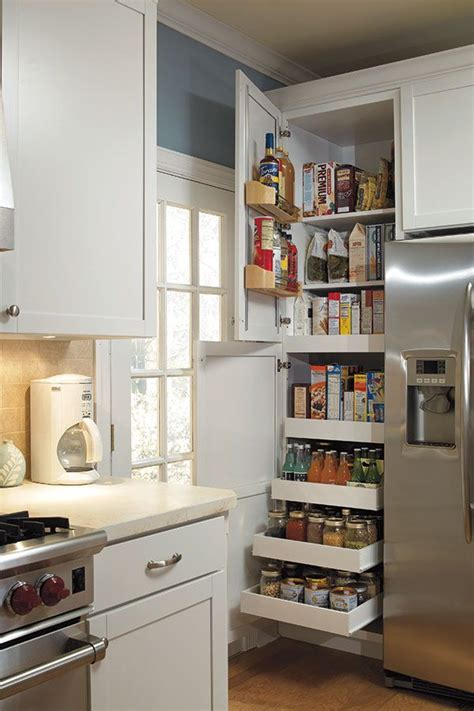 kitchen pantry ideas for small kitchens the 24 quot pantry supercabinet with so much storage packed