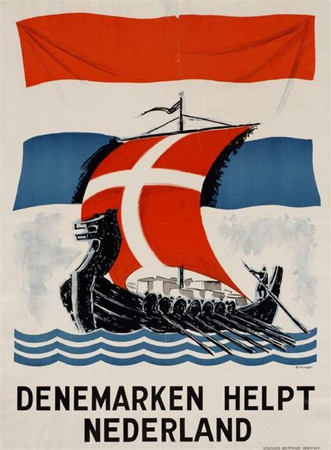 Kaos Band Division Japan 1 wwii propaganda poster quot denmark helps the