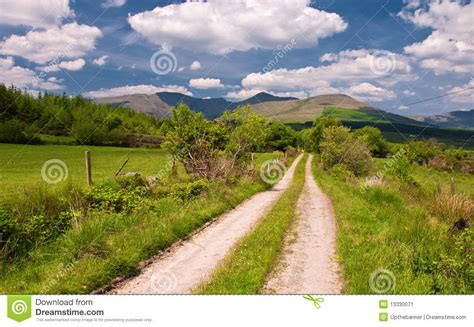 Vibrant Landscape Pictures Vibrant Scenic Landscape From The West Of Ireland Stock