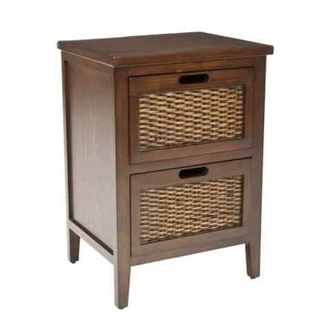 Pine Side Tables Living Room by Safavieh Hanson Pine Wood Side Table In Walnut Amh6531a