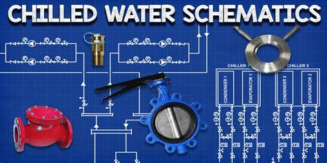 chilled water schematics  engineering mindset