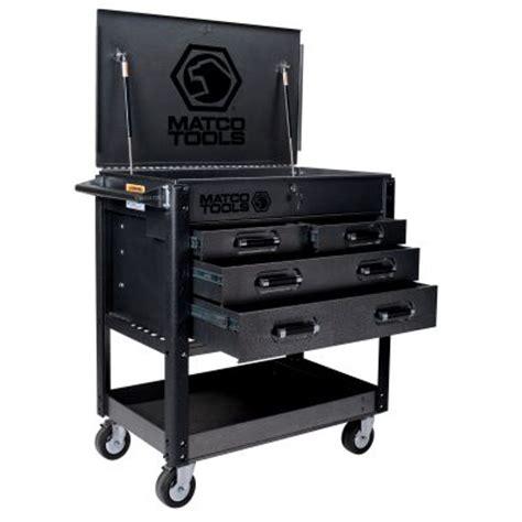 monster 4 drawer tool cart heavy duty service cart silver vein msc4sva matco tools
