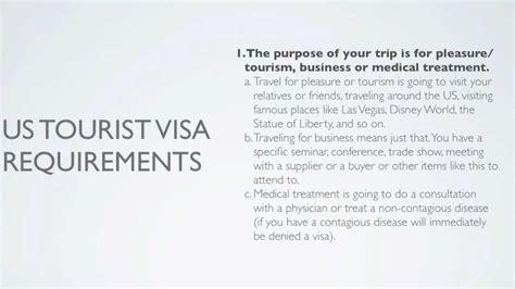 Us Visitor Visa Documents applying for us tourist visa