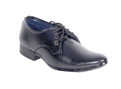 panahi black lace up mens brogue formal shoes