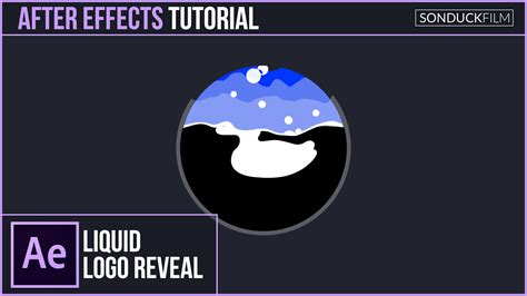 logo tutorial in after effects after effects tutorial liquid bubble logo reveal effect